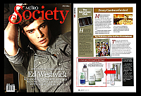July 2011_Metro Society_Ligne_Nymphea_Body_Moisturizer_&_Exfoliating_Cleanser_Evolution_Eye_Cream_Sevactive_Vitaminic_Concentrate